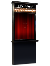 deluxe ticket booth